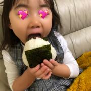 「おにぎり大好き」ごはん彩々「お米を食べている笑顔写真」募集!の投稿画像
