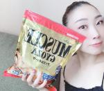 #マッスルギョーザ@sinei_gyoza 様の商品です。相変わらず、お家トレーニング続けています。食事も健康的にと気をつけて❤️とにかく野菜とタンパク質は意識しています。2人…のInstagram画像