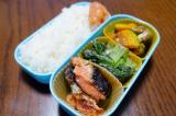 「ある日のお弁当(鮭の粕漬け焼き):ぐうたらせいかつ2」の画像(2枚目)