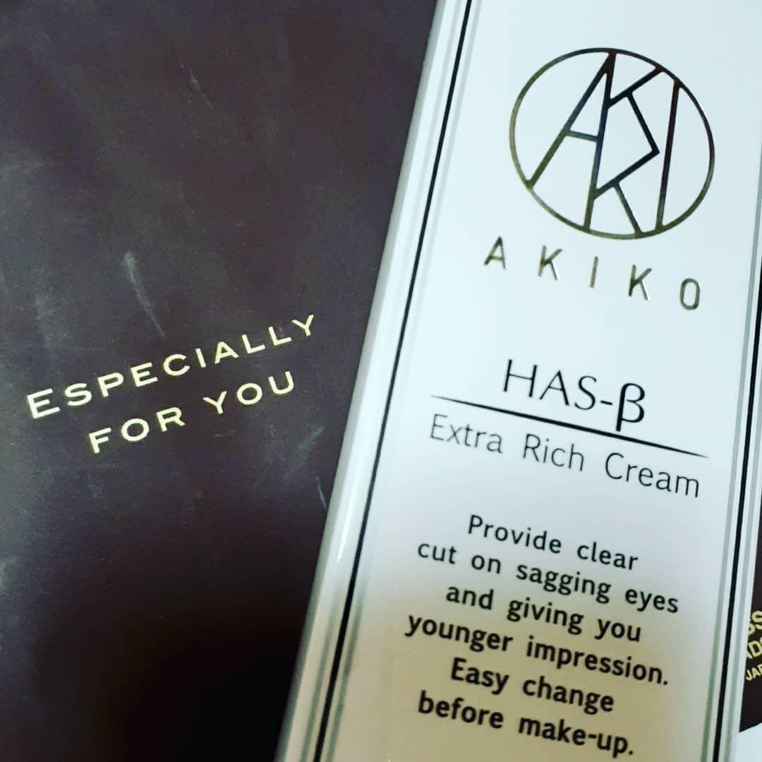 口コミ投稿:AKIKO HAS-Bエクストラリッチクリームお試しです‼️目元用クリーム欲しかった~😆いろ…