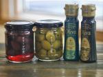 使おう!*いぶりがっことクリームチーズのオードブルそらみつのオリーブの実を添えました。グリーンオリーブはフルーティーな香りとスッキリした味わいが好き!…のInstagram画像