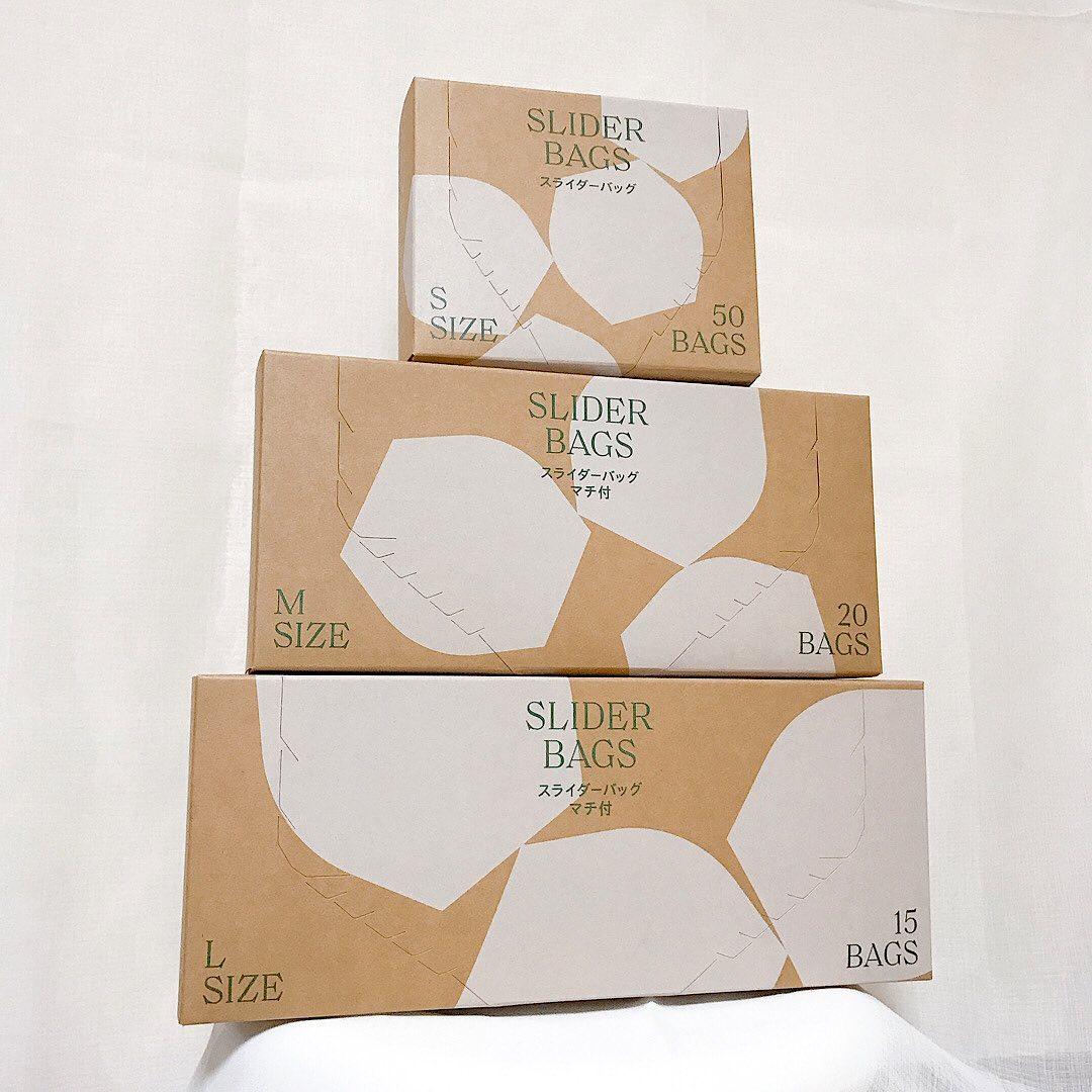 口コミ投稿:📦@lohaco.jp さんの𝐑𝐎𝐇𝐀𝐂𝐎限定スライダーバッグ3点セット(冷蔵・冷凍対応)をお…