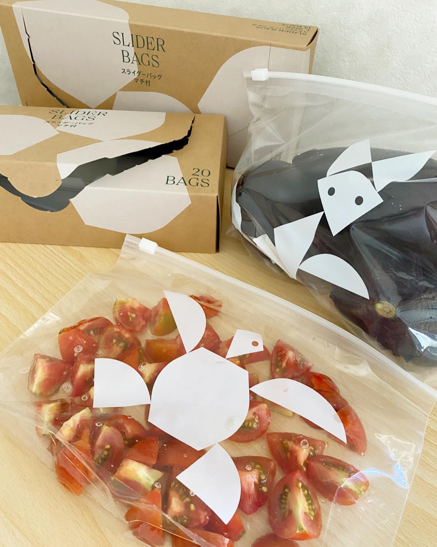 口コミ投稿:【LOHACO限定】✨スライダーバッグ(冷蔵・冷凍対応)3点セット・@lohaco.jp・こんな…