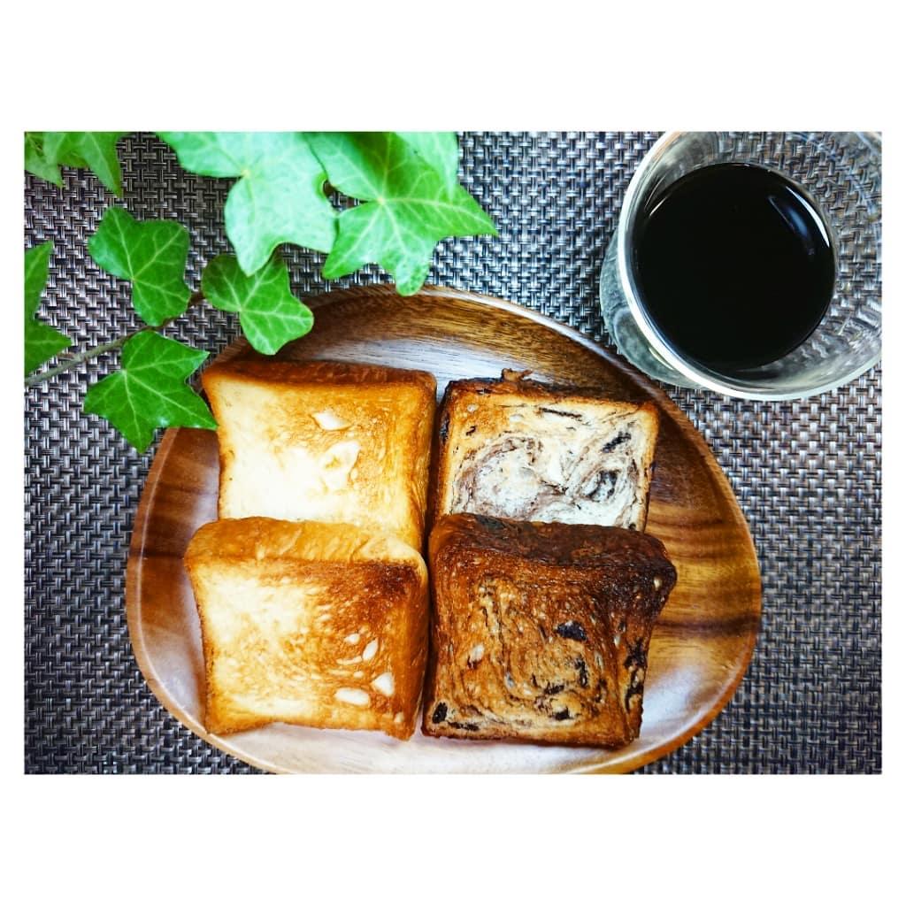口コミ投稿:八天堂とろける食パン生地にマーガリンや発酵バターを幾重にも折り込まれた、手間ひ…