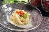 【和のピ】トマトのピクルスでカリカリおじゃこ乗っけの冷製パスタ。:スパイスと薬膳と。の画像(1枚目)