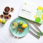 最近のおやつは『琉球すっぽんのコラーゲンゼリー』新しく発売された「シークヮーサー味」が爽やかで、とっても美味しい😋🍨🍐🍋配合成分も豪華♡▷沖縄産す…のInstagram画像