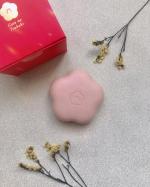 昨日に引き継ぎ、五島の椿株式会社『五島の椿 椿酵母せっけん』をお試ししました🌟...こちらの石鹸は、天然由来指数が驚きの99.5%✨椿に含まれる天然の洗浄成分である『サポニン』がき…のInstagram画像