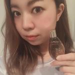今愛用してるやつ❤️プラセンタとサイタイから同時抽出した原液100%の美容液💆♀️💕プラセンタって匂いが気になるけど、これは全然気にならない‼️化粧水の前に浸透させて使ってる…のInstagram画像