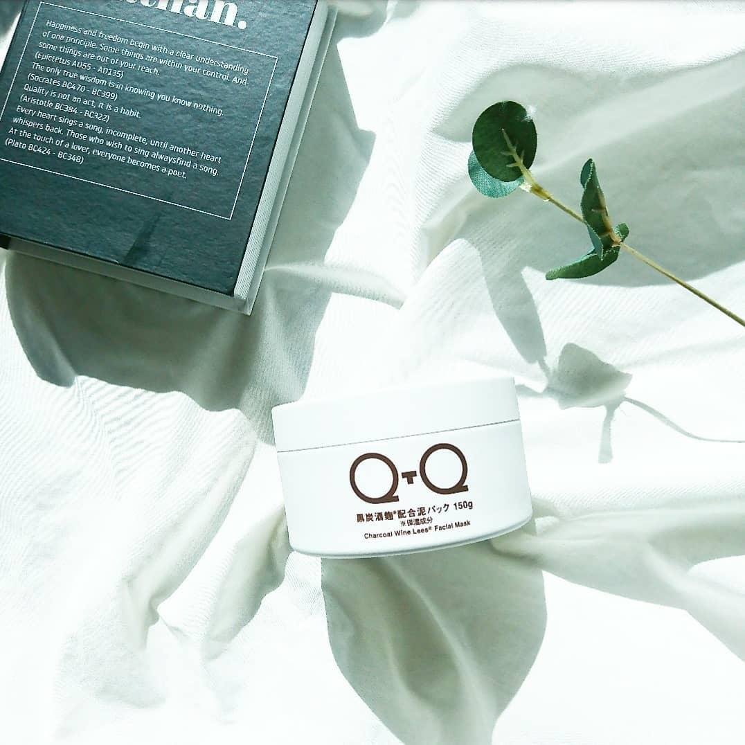 口コミ投稿:・・・ @qtq_official_japan『QTQ 黒炭酒麹配合泥パック  フェイスパック』・・QTQは…