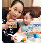 My son is 8 months old(*´꒳`*)He is curious about everything and eat a lot of baby foods(*´◒`*)Ad…のInstagram画像