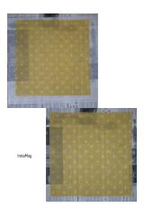 「・〈プラスチックフリー〉 「布でつくるみつろうラップ 」でみつろうラップを作りました❗・」の画像(9枚目)