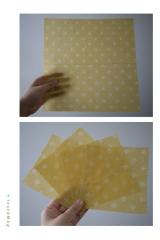 「・〈プラスチックフリー〉 「布でつくるみつろうラップ 」でみつろうラップを作りました❗・」の画像(10枚目)
