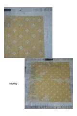 「・〈プラスチックフリー〉 「布でつくるみつろうラップ 」でみつろうラップを作りました❗・」の画像(7枚目)