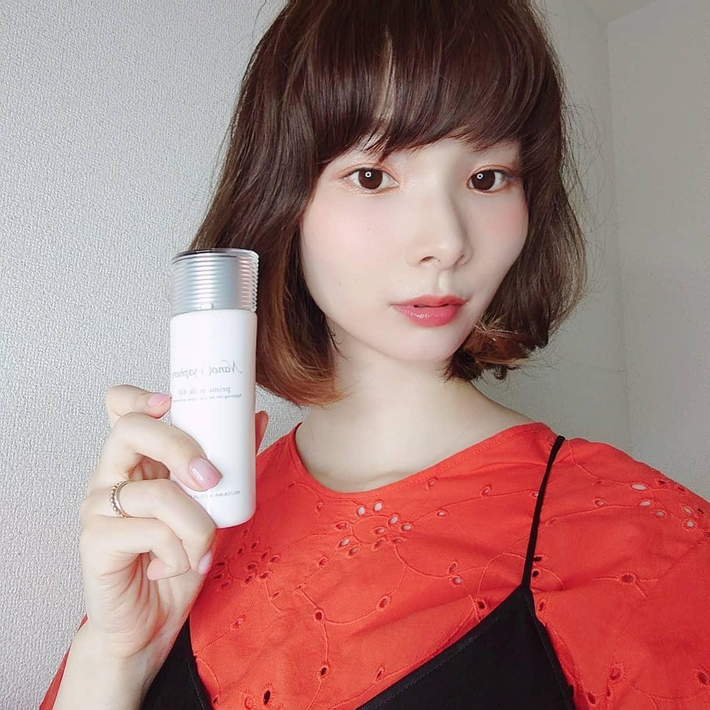 口コミ投稿:ナノクリスフェア プライムミルク100を使用してます。ホソカワミクロンさんの化粧…
