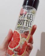 マイジェルボトル🍊グレープフルーツを試させていただきました😊ベタつかずスーと肌に馴染んで保湿してくれました❤️香りもフレッシュでさっぱりとした柑橘系の香りで気分も上がる🦸私は冷蔵庫…のInstagram画像