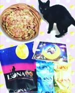 moniplaファンブログ様より💖小粒で形も可愛くて見た目にもいいですね(*^^*)我が家のクーちゃんも勢いよく食べてました🎵お味も1袋に2種類、小分けなのもありがたい😍✨【猫…のInstagram画像