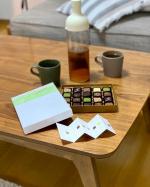 四季折々の風情を小粒のショコラに仕立てたセゾンドセツコ。日本人ショコラティエならではの旬の素材を活かした味わい。抹茶、栗などの和のショコラや、珍しい醤油風味も。選ぶ楽しみ🎶ひとくち…のInstagram画像