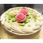 大好きな #パタークリーム の #デコレーションケーキ が届きました❣️#原宿スイーツ で有名な #コロンバン さんのもの。今回、 #クリスマス 用デコレーションケーキの #冷凍配送 テストに…のInstagram画像