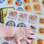 「みんなのシール」で子供のシールを作ってみました✨PRです。今回機会を頂き、みんなのシールで我が子のシールを作ってみました。台紙1枚400円(税別)で送料200円。印刷後すぐ発…のInstagram画像