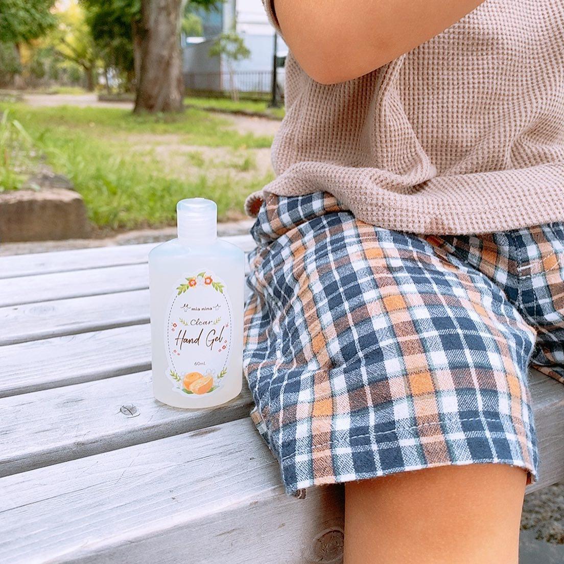 口コミ投稿:@mianina.jp 様のクリアハンドジェルをお試しさせて頂きました🌿.コンパクトで荷物が…