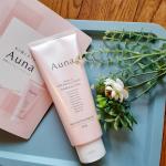本日の商品はAuna マイルドホットクレンジングジェル です。EC限定発売99%美容液、9つの無添加の、温感タイプのクレンジングジェル。3種の酵素(パパイン、プロテアーゼ、リパーゼ…のInstagram画像