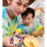 Udon baby food with vegetable soup stock🥬🧅Perfect for busy moms because it is additive-free✨✨Cha…のInstagram画像