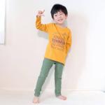 誕生日過ぎると東京は急に涼しくなる‼️長袖必須ですね~新しいロンTはニッセン @nissen_kids_official さんの✨夏はタピオカのTシャツにお世話になりましたが今回も…のInstagram画像