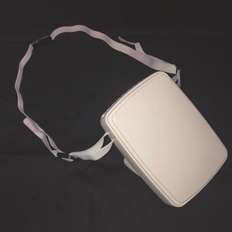 口コミ投稿:..neck strap fan..いつでもどこでも持ち運び便利でお洒落なネックストラップファン…