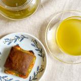 「*抹茶とホワイトチョコ&緑茶でおやつタイム*」の画像(1枚目)