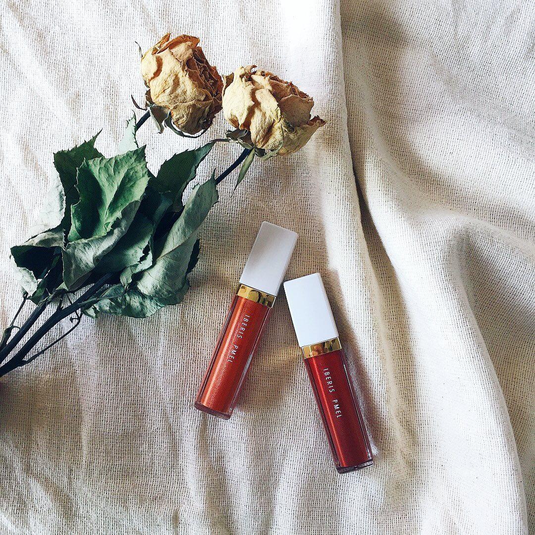 口コミ投稿:10月13日(火)たまにはきちんとお化粧したい〜𓈒 𓂂𓏸最近お気にムースシャドウ。レッド…