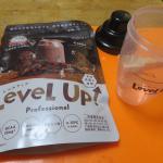 .ビダブリッドジャパンさんからLeveLup  ココアミルク味をいただき娘に飲んでもらいました🥤⭐️.子供の栄養に必要なビタミンD.ビタミンB1.ビタミンB2ビタミンB6.ビタ…のInstagram画像