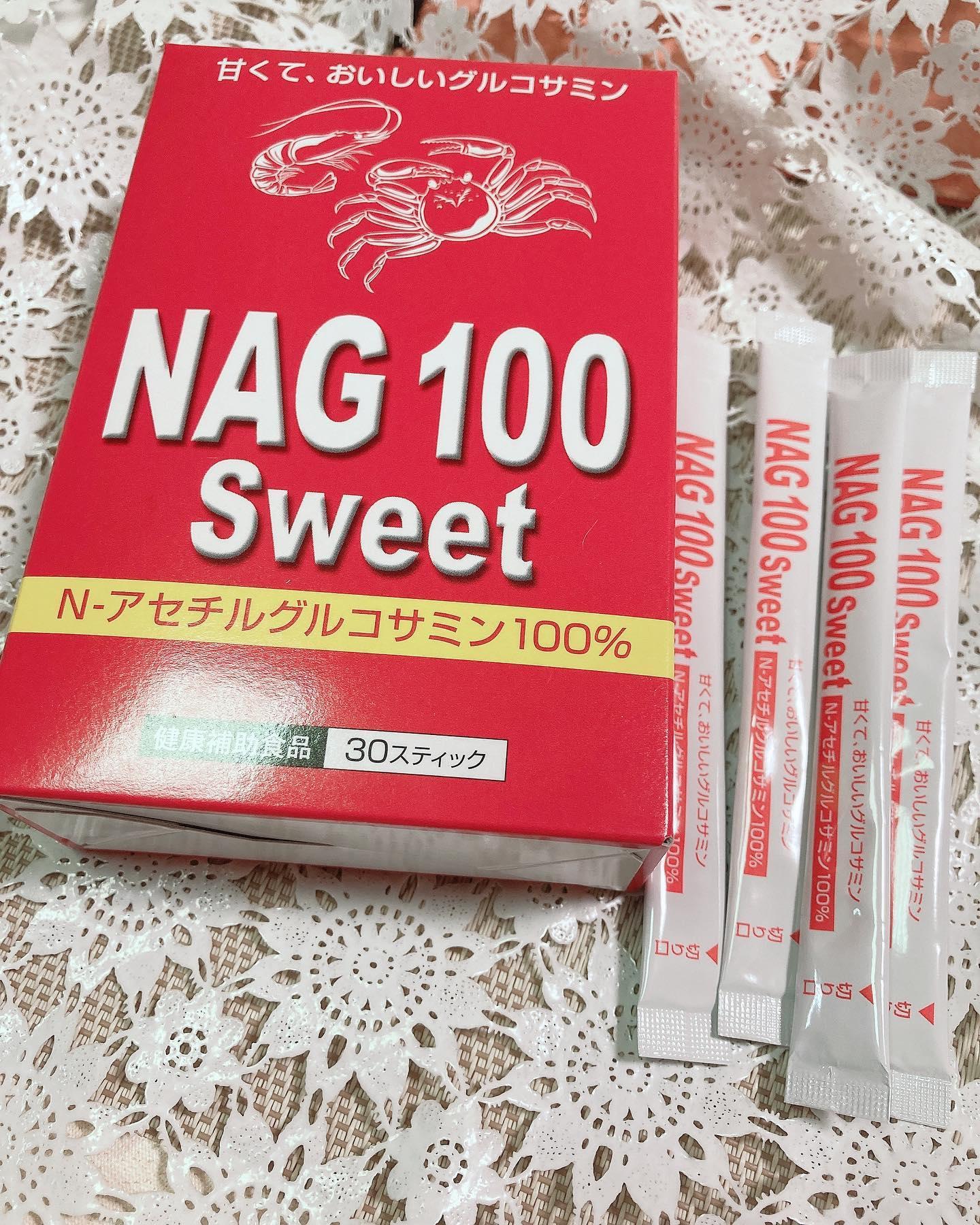 口コミ投稿:#NAG100 #monipla #nakagaki_fanNAG100スイート30スティック入り 4104円税込NAG100…