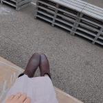 👢𓂃 𓈒𓏸@hiraki_official 様にいただいたチャンキーヒールブーツ𓂃 ヒールの高さが5㎝だから、歩きやすいし痛くならないꪔ̤̥ꪔ̤̮…のInstagram画像