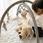 ❁ㅤㅤㅤㅤㅤㅤㅤㅤㅤㅤㅤㅤㅤ生まれてくる第二子のための準備も最終段階♡ㅤㅤㅤㅤㅤㅤㅤㅤㅤㅤㅤㅤㅤ今回、第二子用に 大好きなデンマークブランドdone by deer のプレイマットをお…のInstagram画像