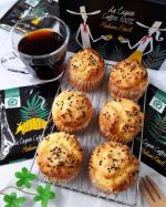 2020.10.17☔・本日のおやつはさつまいもマフィンとコーヒー。・@lohaco.jp 様より「LOHACO限定 ダラゴア農園 シングルオリジン ドリップコーヒー」をモ…のInstagram画像