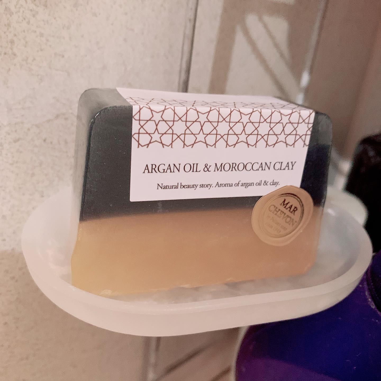 口コミ投稿:石鹸屋さんの自家製せっけんマルシェボンアルガンオイルと天然の洗浄成分ガッスール…