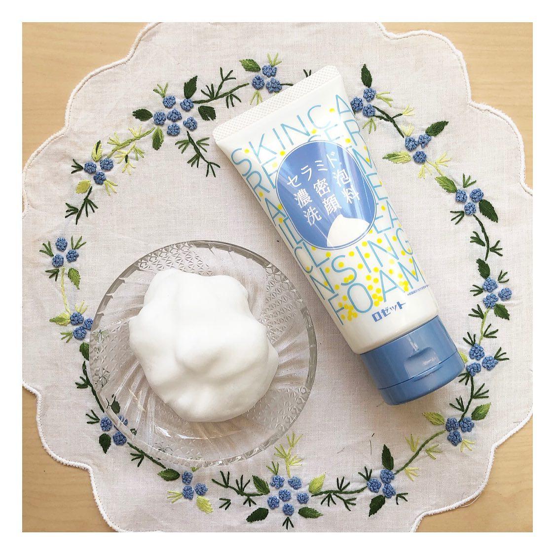 口コミ投稿:・とにかく泡が濃厚な洗顔フォーム ☁️「 セラミド 濃密泡洗顔料 」もっちりとし…
