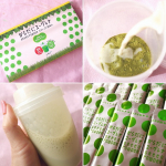 豆乳と混ぜてメチャ美味い😋..#ユーグレナ #euglena #からだにユーグレナ #greenpowder #スーパーフード #おうち時間 #テレワーク #インナーケア #monipla…のInstagram画像