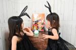 @marychocolate.jp さまからハロウィンのプレゼントをいただいたよ♡今年はイベントもできなかったのでダイソーのうさみみと顔ペイントでほんのりハロウィン🎃さて、ハロウィ…のInstagram画像