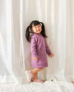 .@nissen_kids_official サマパーカーワンピース着てみたよ♡杢グレースモーキーミントスモーキーピンクラベンダーネイビー5色展開てことはラベン…のInstagram画像