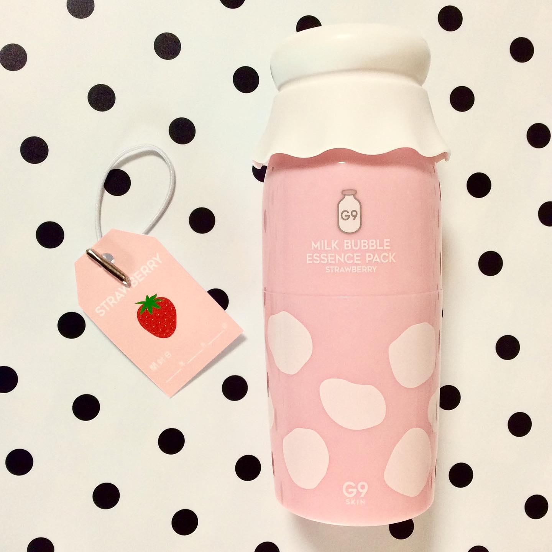 口コミ投稿:開封前からいちごミルクの香りが〜🍓🥛…で、どこからオープン??キャップ部分じゃない…