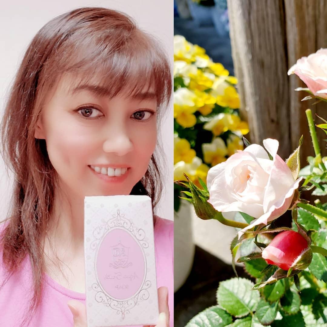 口コミ投稿:#麗凍化粧品 『薔薇はちみつ石鹸』使わせて頂きました💕#合成界面活性剤不使用 #防腐…