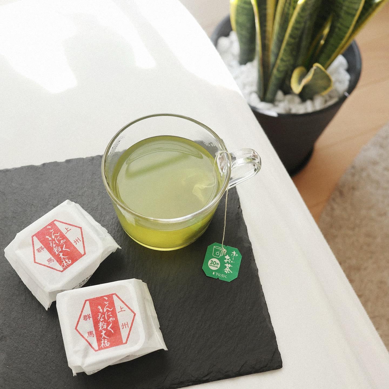口コミ投稿:Tea Time 🍵普段は、紅茶や珈琲でブレイクしてるけどたまには緑茶でほっこりしたい🍵パ…