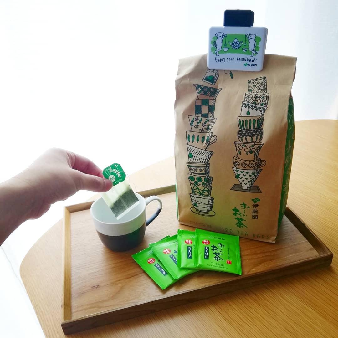 口コミ投稿:\LOHACO限定 伊藤園お~いお茶/みてくださいこのかわいい袋ー😍😍LOHACO限定…