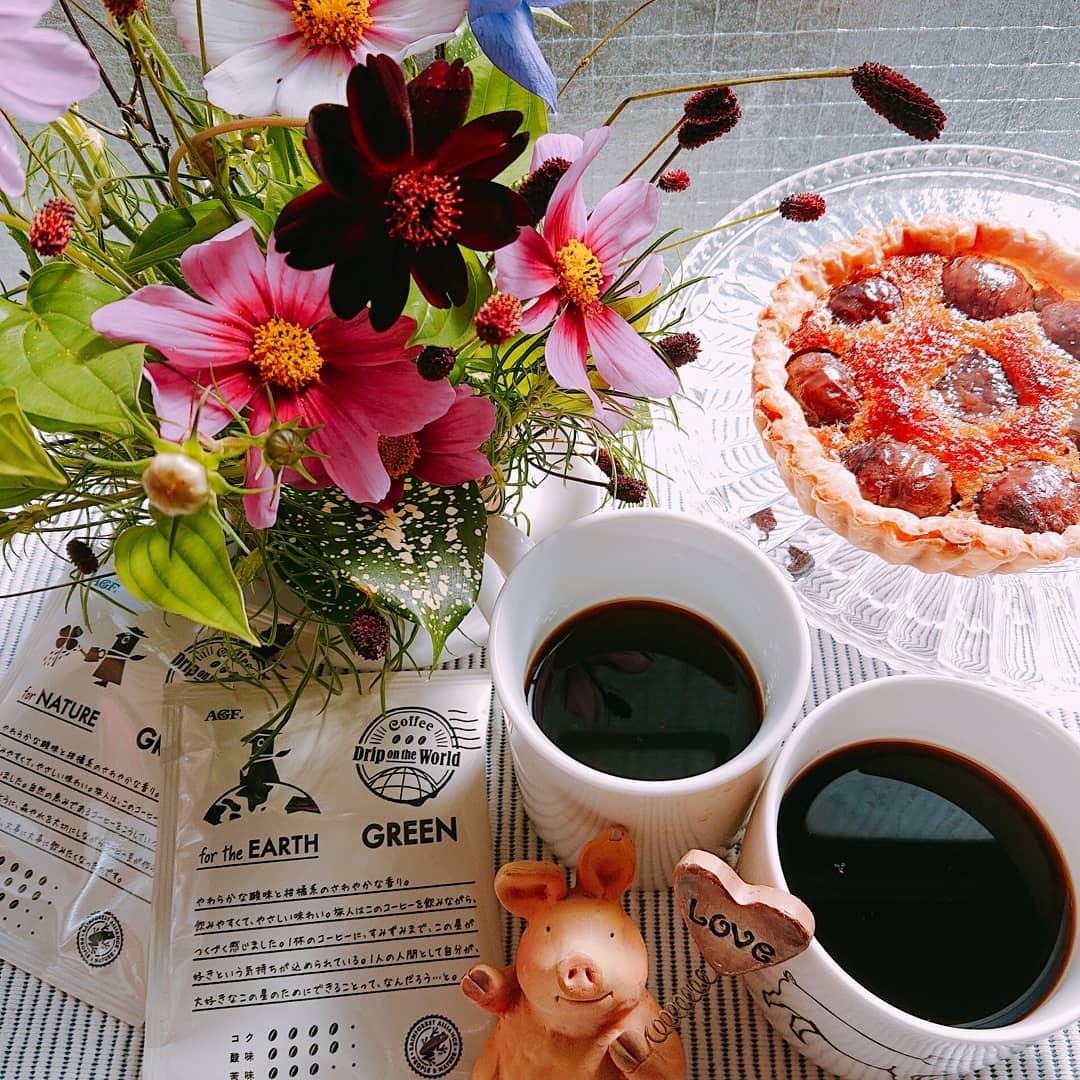 口コミ投稿:*・*・*・*・*・.お気に入りの栗のタルト🤗本日のコーヒータイムはLOHAKO先行販…