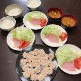 今日の晩ご飯は味の素プリプリのエビシューマイの画像(1枚目)