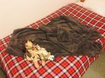 ★寒がりさんに超おすすめニッセンのふわぬくマイクロファー手足すっぽりルームウェア上下セット!!!マイクロファー素材で肌触りふわふわ❤️トップスの袖とボトムの股下がふ…のInstagram画像