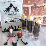 リボン食品株式会社さまのOriginal Fat WitchBROWNIE MIXをお試しさせていただきました❤️.ブラウニーがつくれるミックス粉。バター、牛乳、卵、焼き型を用意し…のInstagram画像