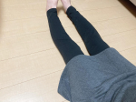 ・・・極厚裏起毛スカート付レギンスを、お試しさせていただきました🌿・・・▶︎商品の説明さらりとはけばスタイル決まるスカート付レギンス。スカートはまるで毛布の…のInstagram画像
