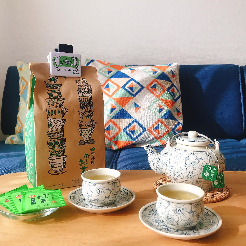 口コミ投稿:【LOHACO限定】伊藤園おーいお茶緑茶ティーバッグ120袋入+おまけクリップ付1390円…